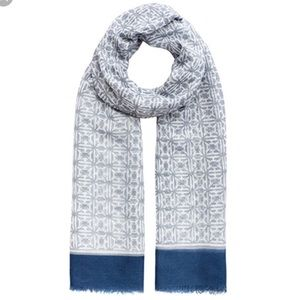 India Hicks Heritage Scarf in Cornwall Blue